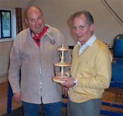 The monthly winner Howard Overton
