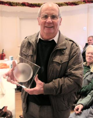 Howard Overton retained the Bill Alston trophy for another year