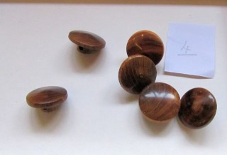 A selection of turned buttons by Keith Leonard