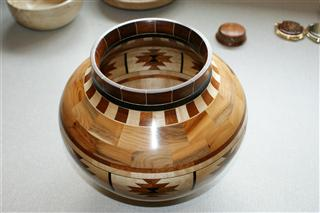 Frank's highly commended segmented bowl