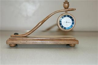 Another clock by Bernard Slingsby
