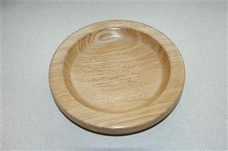 Oak bowl by Bert Lanham