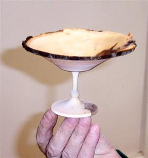 The finished goblet