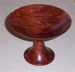 Bowl on stand by Pat Hughes