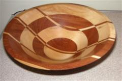 Pat's winning segmented bowl