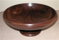 Geoff's winning American walnut bowl
