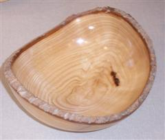 Natural edge bowl by Geoff Hunt